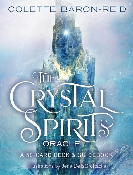 CRYSTAL SPIRITS ORACLE: A 58-Card Deck & Guidebook