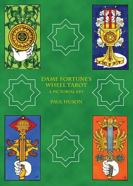DAME FORTUNE'S WHEEL TAROT: A Pictorial Key (78-card deck, Significator card & instruction booklet)