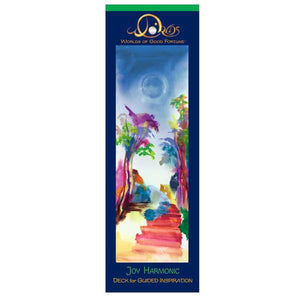 "DECKS FOR GUIDED INSPIRATION-JOY HARMONIC (11 vibrant cards; boxed; 3"" x 9.5"")"