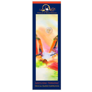 "DECKS FOR GUIDED INSPIRATION-UNFOLDING HARMONIC (11 vibrant cards; boxed; 3"" x 9.5"")"