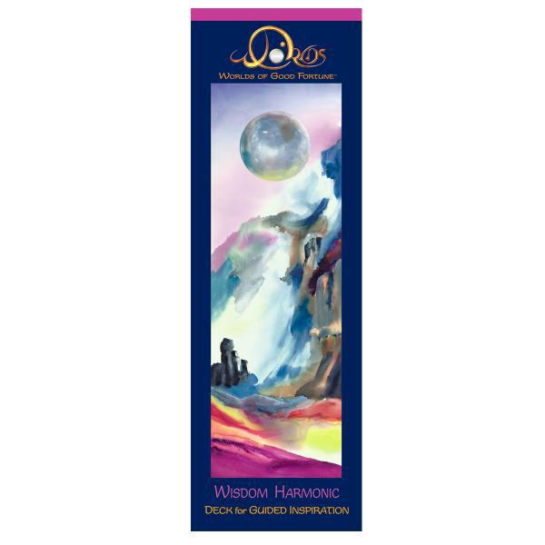 DECKS FOR GUIDED INSPIRATION-WISDOM HARMONIC (11 vibrant cards; boxed; 3