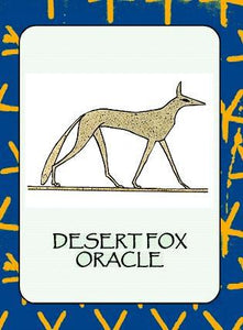 DESERT FOX ORACLE (30-card deck & instruction booklet)