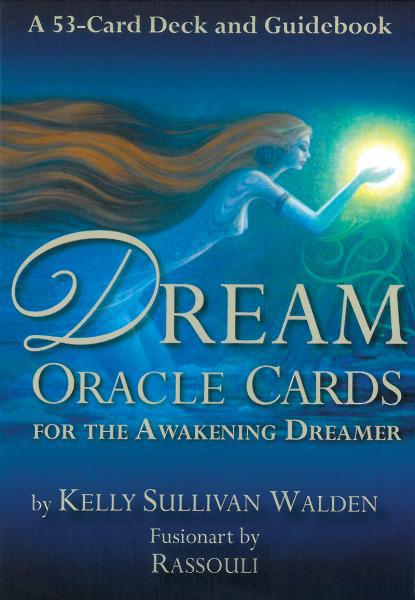 DREAM ORACLE CARDS: For The Awakening Dreamer (53-card deck & 184-page guidebook) (new edition)