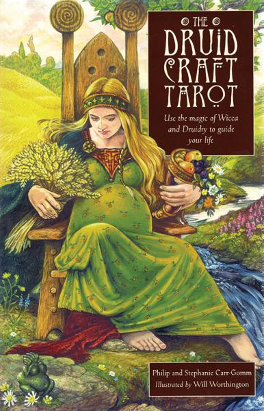 DRUIDCRAFT TAROT (78-card deck & 192-page book)