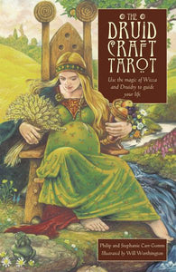 DRUIDCRAFT TAROT: Use The Magic Of Wicca & Druidry To Guide Your Life (78-card deck & 192-page book)
