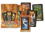 EASY TAROT (includes The Gilded Tarot deck, book & layout sheet; boxed)