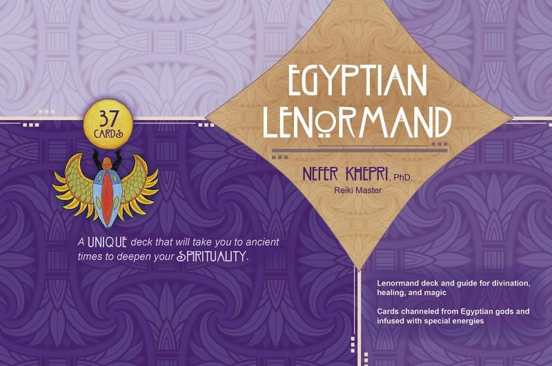 EGYPTIAN LENORMAND (40-card deck & 176-page guidebook)