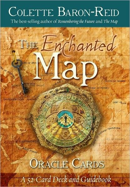 ENCHANTED MAP ORACLE CARDS (54-card deck & guidebook)