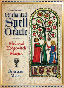 ENCHANTED SPELL ORACLE: Medieval Hedgewitch Magick (36-card deck & book)