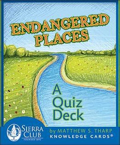 "ENDANGERED PLACES QUIZ DECK (48 cards; 3-1/4"" x 4"" boxed)"