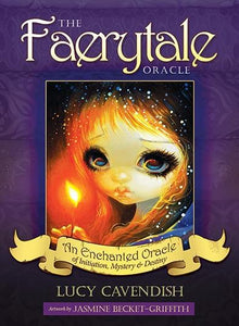 FAERYTALE ORACLE: An Enchanted Oracle of Initiation, Mystery & Destiny (44 cards & 188-page guidebook, boxed)