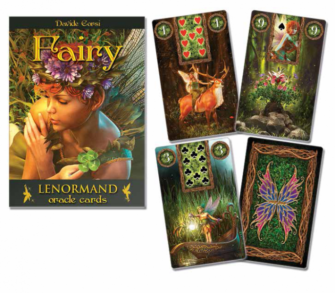 FAIRY LENORMAND ORACLE (36-card deck & 192-page instruction book)