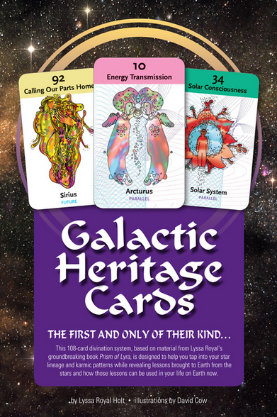 GALACTIC HERITAGE CARDS (108-card deck & 156-page book)
