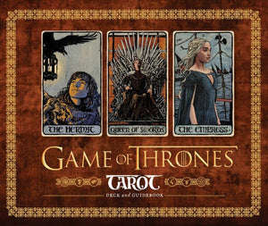 GAME OF THRONES TAROT (78-card deck & hardcover guidebook)