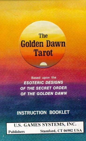 GOLDEN DAWN TAROT DECK