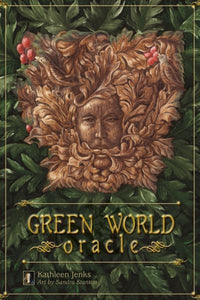 GREEN WORLD ORACLE (33-card deck & companion guide)