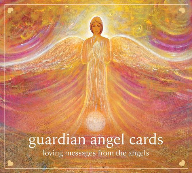 GUARDIAN ANGEL CARDS: Loving Messages From The Angels (46-heart-shaped cards, boxed)