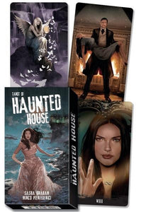 HAUNTED HOUSE TAROT DECK (78-card deck & book)