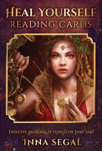 HEAL YOURSELF READING CARDS: Intuitive Guidance To Transform Your Soul (36-card deck & 96-page guidebook)