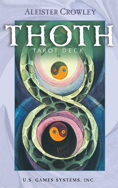 ALEISTER CROWLEY THOTH TAROT DECK (small 78-card deck)