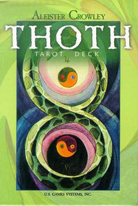 ALEISTER CROWLEY THOTH TAROT DECK (78 cards; original version of large deck)