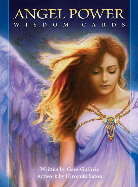 ANGEL POWER WISDOM CARDS (45-card deck & 40-page guidebook)