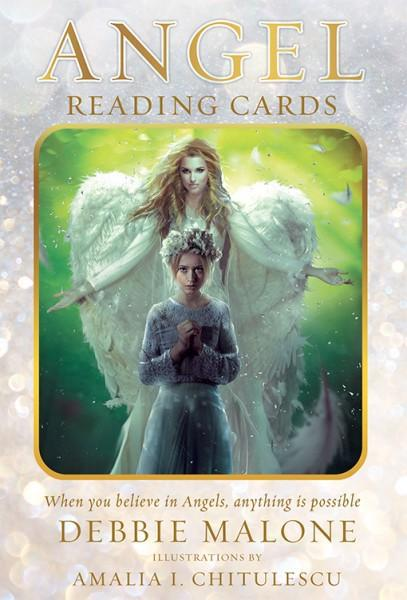 ANGEL READING CARDS (36-card deck & guidebook)
