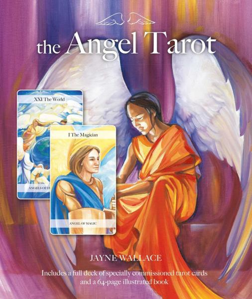 ANGEL TAROT (78-card deck & 64-page book)
