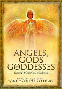 ANGELS, GODS, & GODDESSES ORACLE (45 card deck and guidebook)