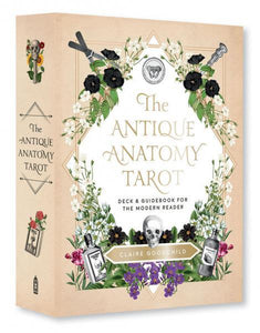 ANTIQUE ANATOMY TAROT KIT: Deck & Guidebook For The Modern Reader (78-card deck & 80-page book)
