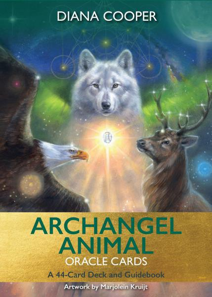ARCHANGEL ANIMAL ORACLE CARDS: A 44-Card Deck & Guidebook