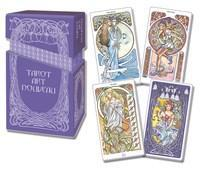 ART NOUVEAU PREMIUM TAROT (78-card deck, booklet & metallic foil hardbox)