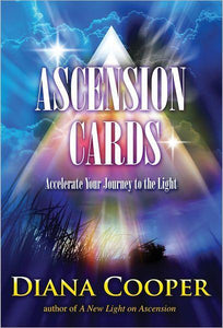 ASCENSION CARDS: Accelerate Your Journey To The Light (52-card deck & 80-page book)