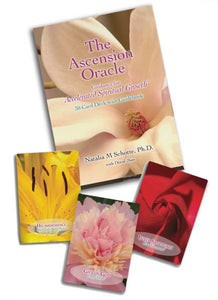 ASCENSION ORACLE: Guidance For Accelerated Spiritual Growth (30-card deck & book)