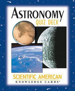 "ASTRONOMY QUIZ DECK KNOWLEDGE CARDS (48-card deck; 3-1/4"" x 4"")"