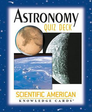 ASTRONOMY QUIZ DECK KNOWLEDGE CARDS (48-card deck; 3-1/4