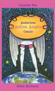 AUDACIOUS ACTION ANGELS ORACLE (44-card deck & guidebook)