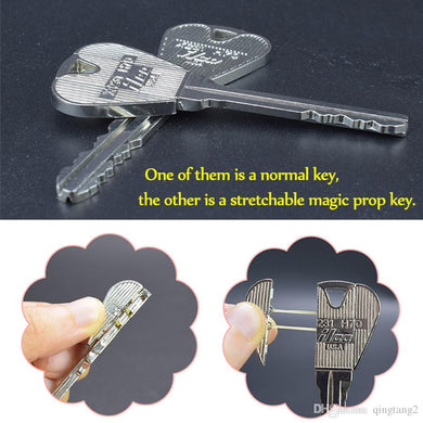 2 Pcs Magic Folding Keys Prop