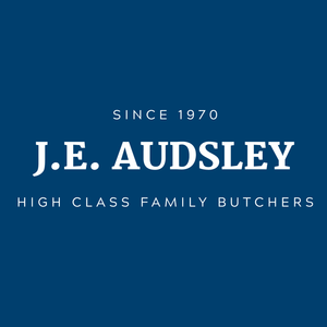 J.E AUDSLEY - high class family butcher since 1970