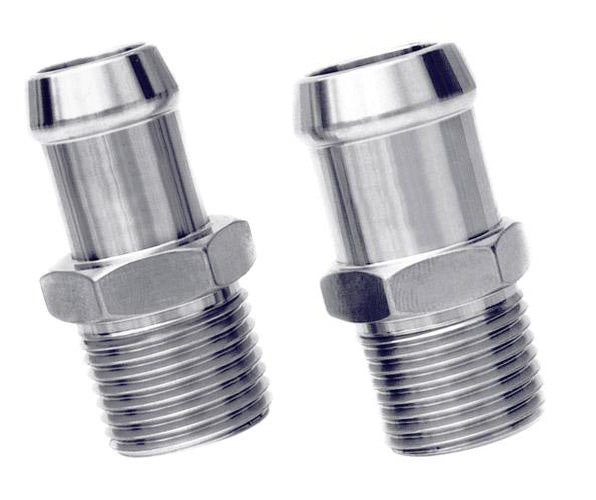 Heater Hose Fittings - Hex #1008 (set)