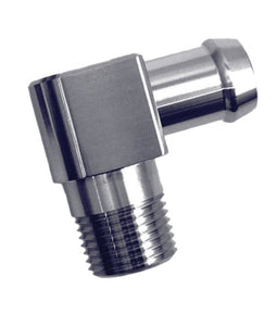 Heater Hose Fittings - 90deg #1037