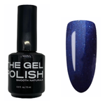 The Gel Polish - Glitter Blue on Blue