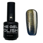 The Gel Polish  - Ocean Gold Sparkle