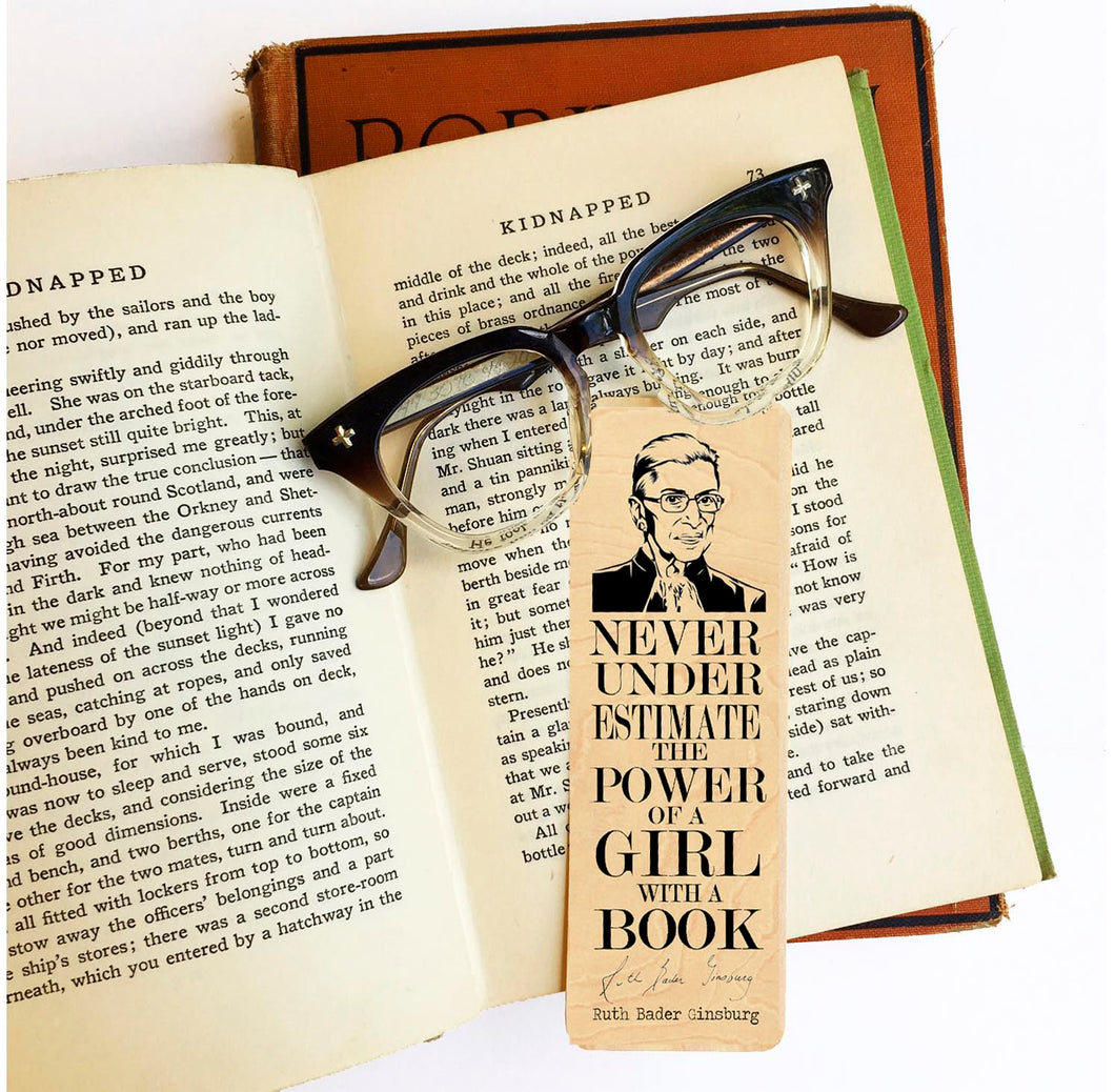 'Never underestimate the power of a girl with a book.