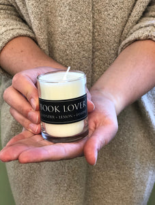 Limited Edition Bibliophile Boxed Candle Set for Book Lovers