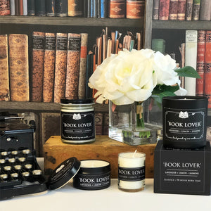 Limited Edition Bibliophile Boxed Candle Set- Choose 3