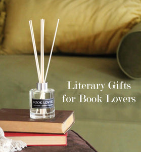 Literary Gifts for Book Lovers. 4 oz Reed Diffuser. Lavender. Lemon. Jasmine. Home Fragrance