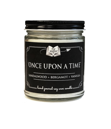 Once Upon A Time - Sandalwood + Bergamot + Vanilla - 9oz Handpoured Soy Candle