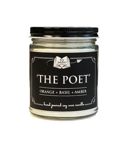The Poet - 9oz Hand poured Soy Candle
