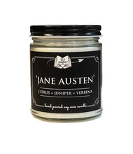 Load image into Gallery viewer, Jane Austen - 9oz Hand Poured Soy Candle